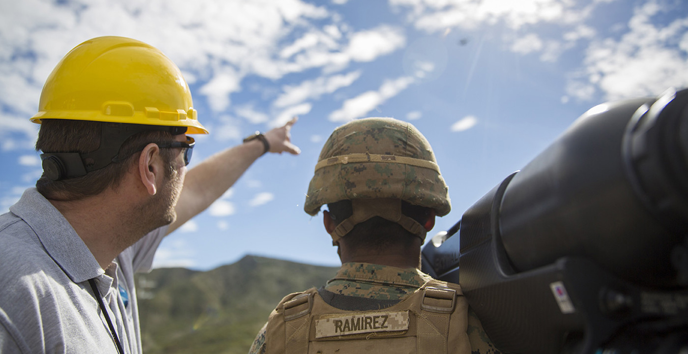 SkyWall100 is operated by US Marines at the U5G 2018